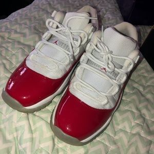 Jordan's cherry red 11 lows